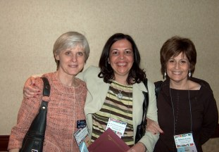 At NECFTL, 2009 with Dr. Margaret Ann Kassen (CUA) & Dr. Lavine (University of Maryland.)